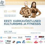 27.4.2019 Eesti karikavõistlused kulturismis ja fitnessis