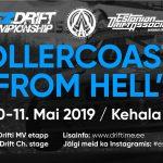 """Reedel algab NEZ Drift Estonia """"Rollercoaster from HELL"""""""