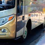 Politseinikud kõrvaldasid roolist alkoholi tarvitanud bussijuhi, kes vedas lapsi