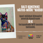 Kadrioru kunstimuuseum ja galerii Kunstiruum Estonia panid õla alla koduta loomade aitamisele - sina saad ka aidata!