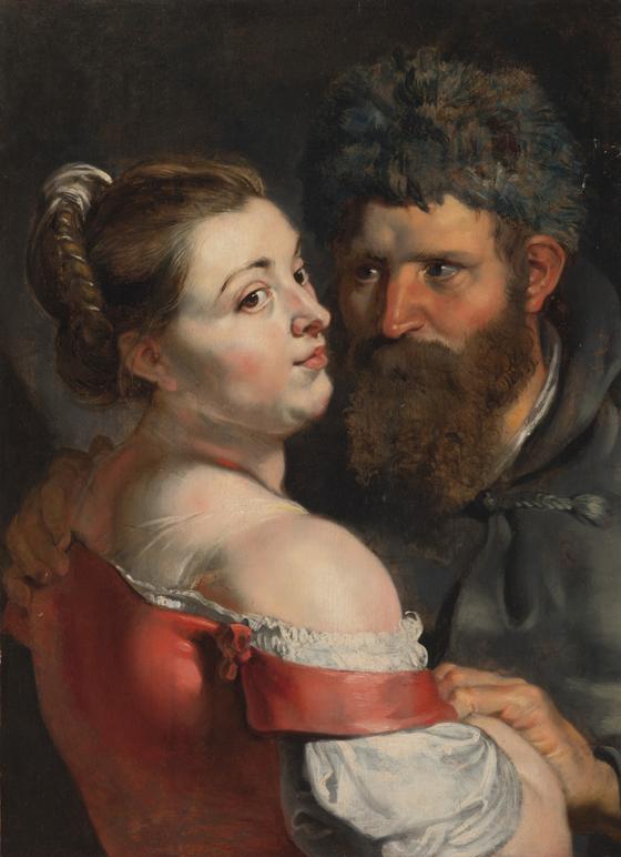 Peter Paul Rubens (1557-1640). Meremees ja naine embamas. U 1614‒1615. The Phoebus Foundation